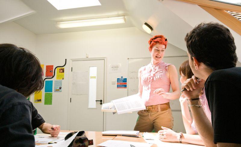 Урок в школе Excel English