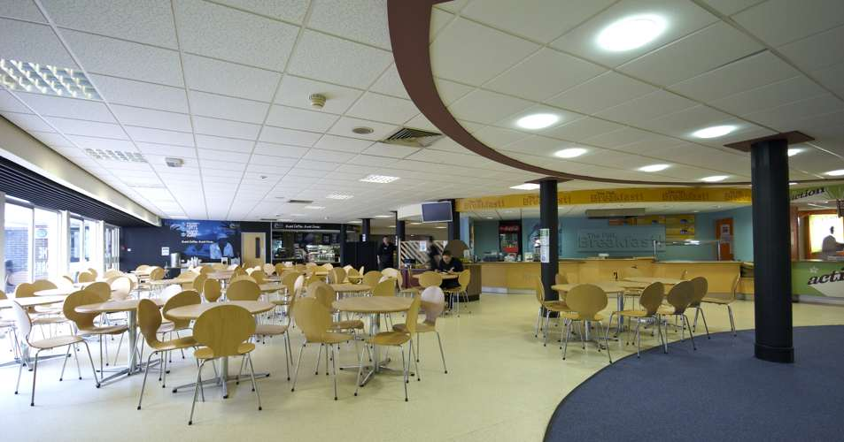 Кафетерий на кампусе