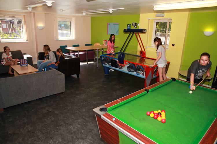 Игровая комната на кампусе