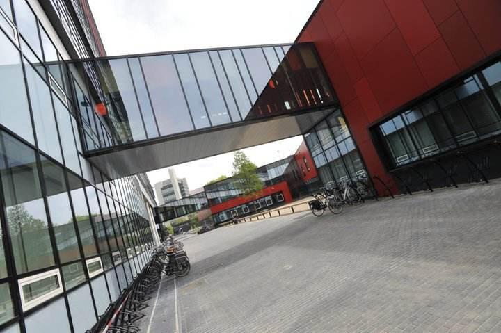Внутренний двор University of Twente