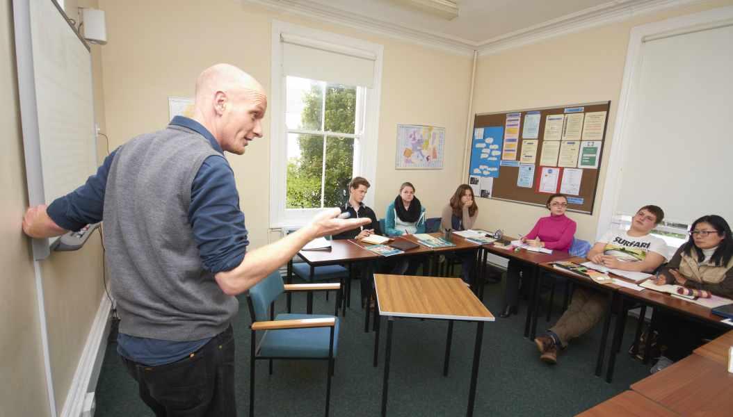 Урок в St Giles, Eastbourne