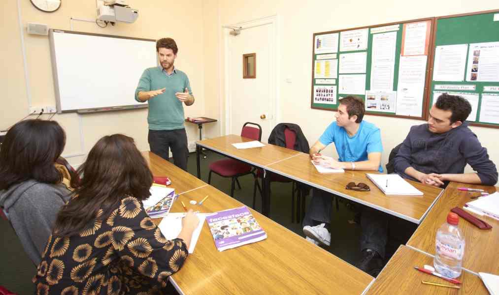 Урок в St Giles, Brighton