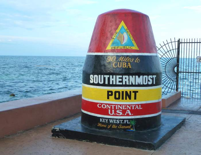 Самая южная точка континентальной Америки