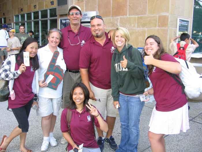 студенты с преподавателями