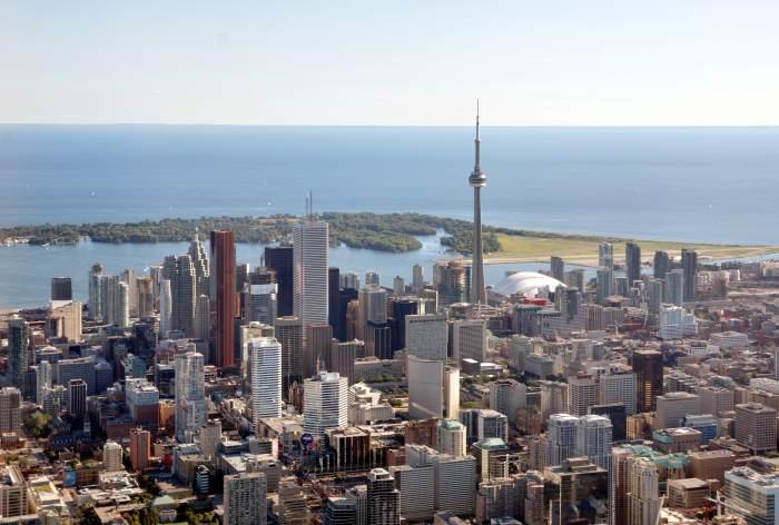 Вид на Торонто