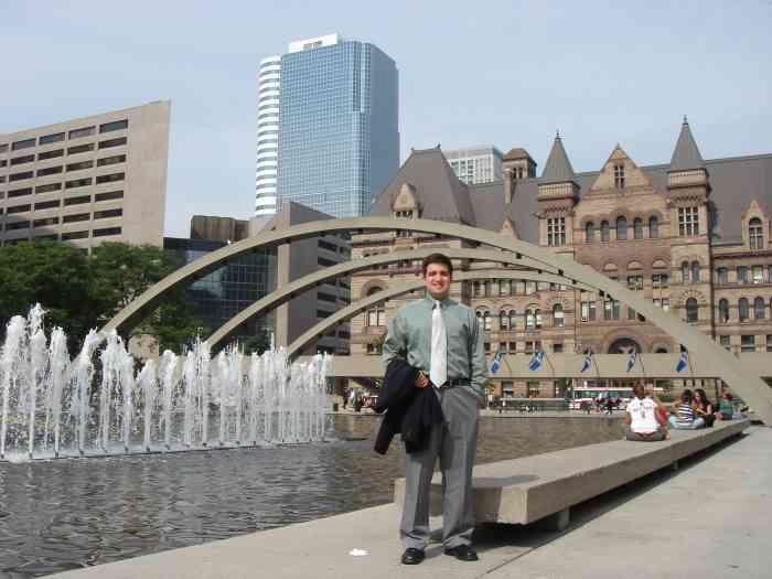 Парк в Торонто