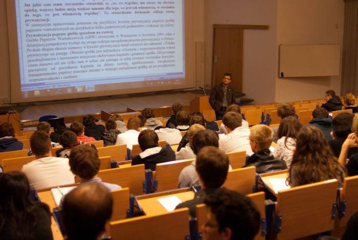 Учебные аудитории PJATK