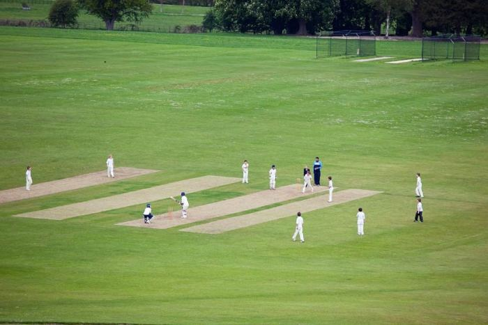 Занятия крикетом в Exsportise, Seaford College