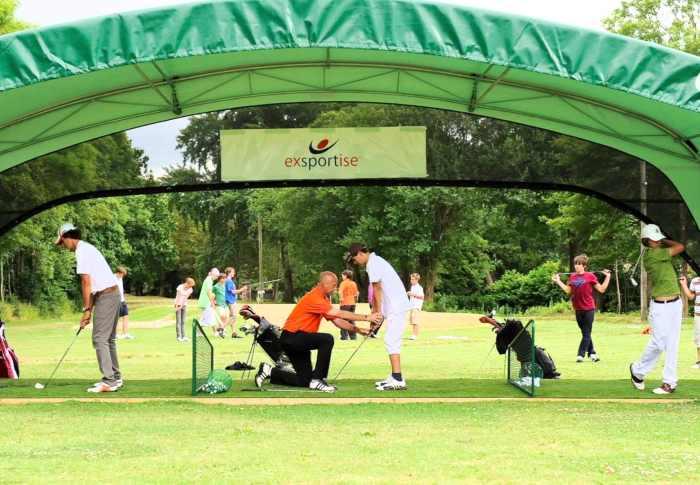 Занятия гольфом в Exsportise, Seaford College