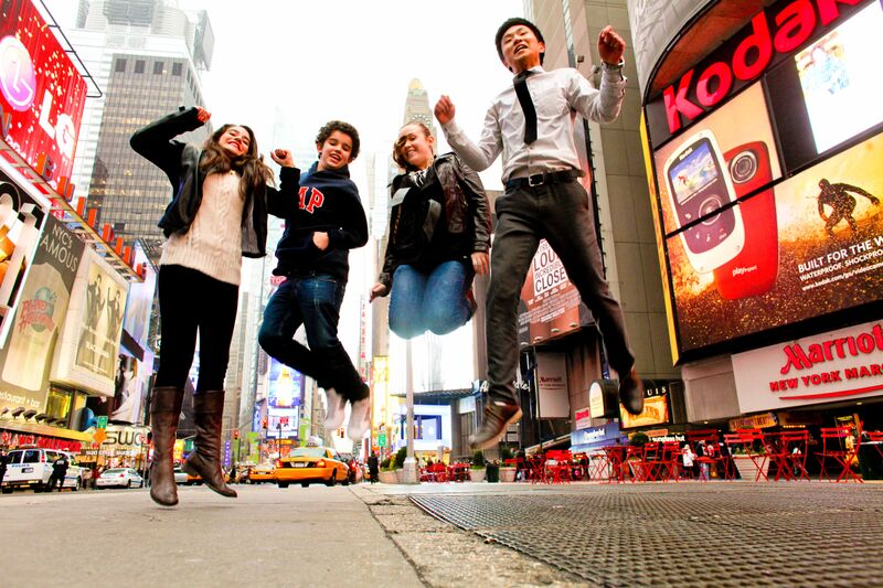 Студенты школы Rennert в Нью-Йорке