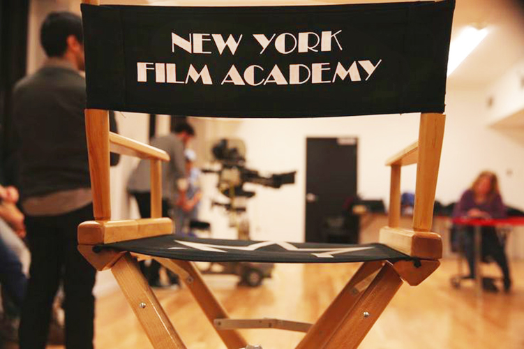 В аудитории New York Film Academy