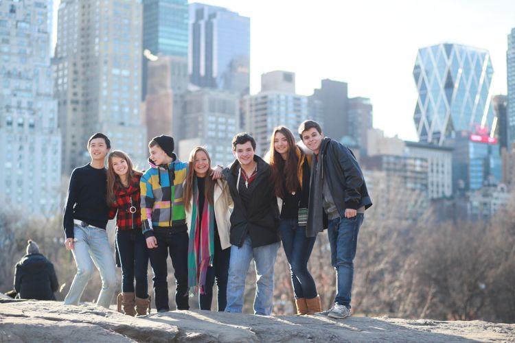 Прогулки по Нью-Йорку