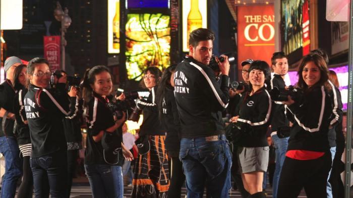 Прогулка по Таймс сквер