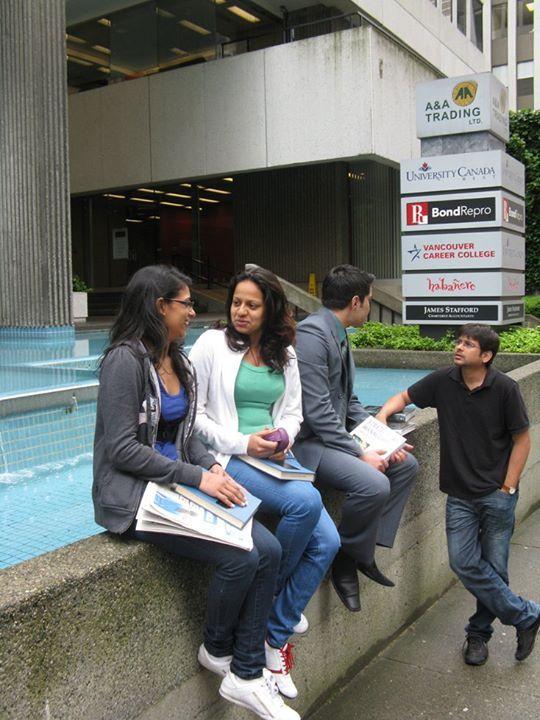 Студенты University Canada West