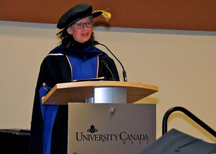 Лекция в University Canada West