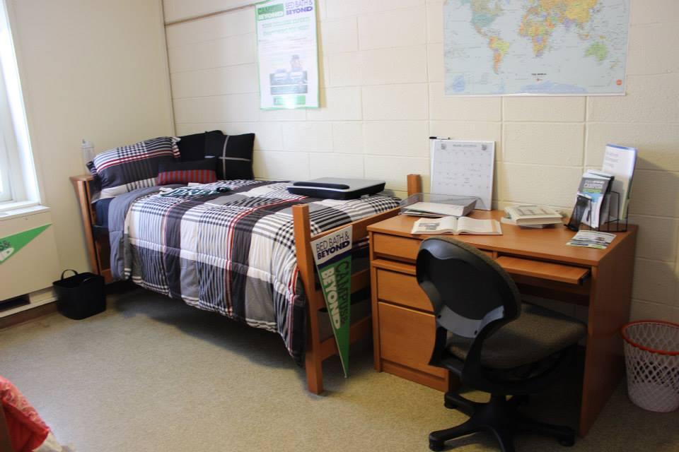 Комната в общежитии Drew University