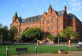 Один из корпусов Saint Louis University