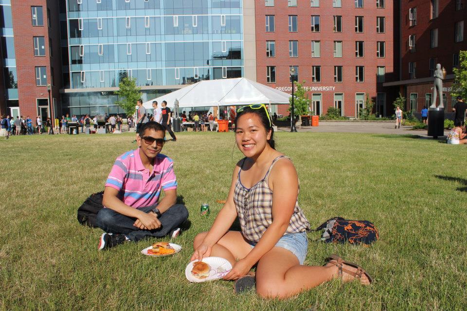 Пикник в Oregon State University