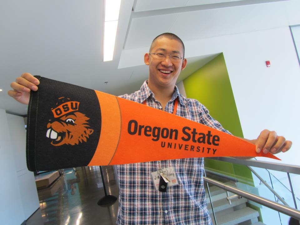 Болеьщик Oregon State University
