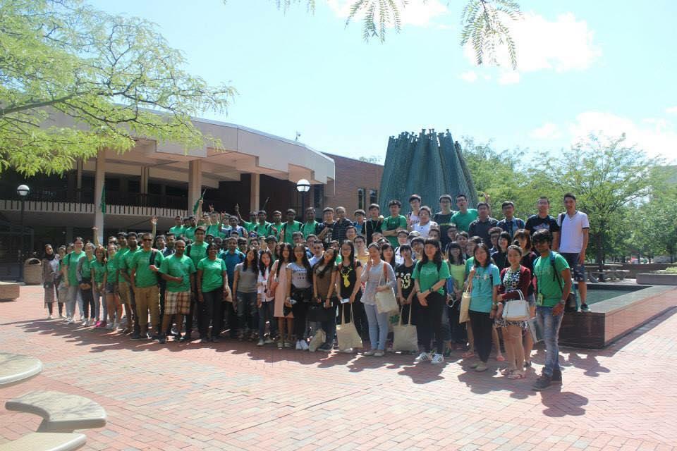 Студенты INTO Marshall University