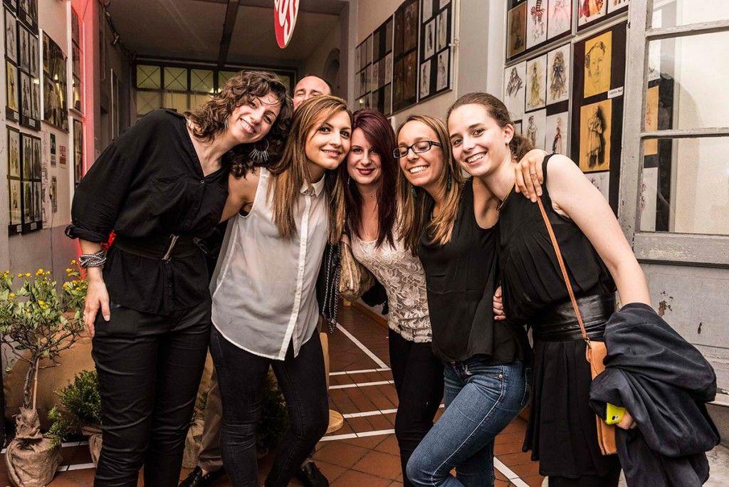 Студенты Accademia Costume & Moda