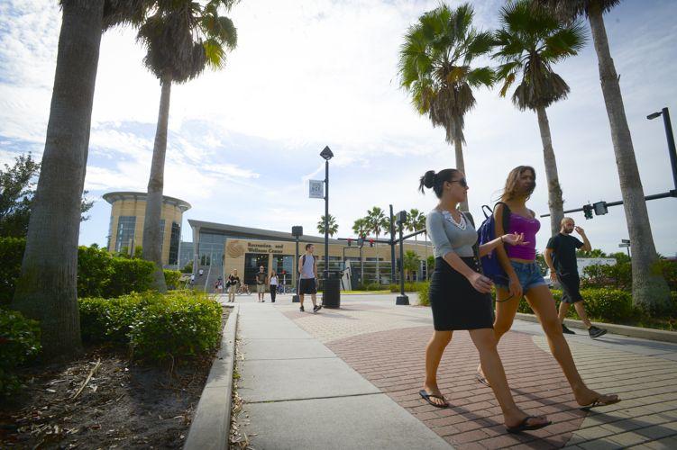 На кампусе University of Central Florida