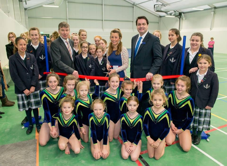 Открытие спортивного зала в ADCOTE School for girls