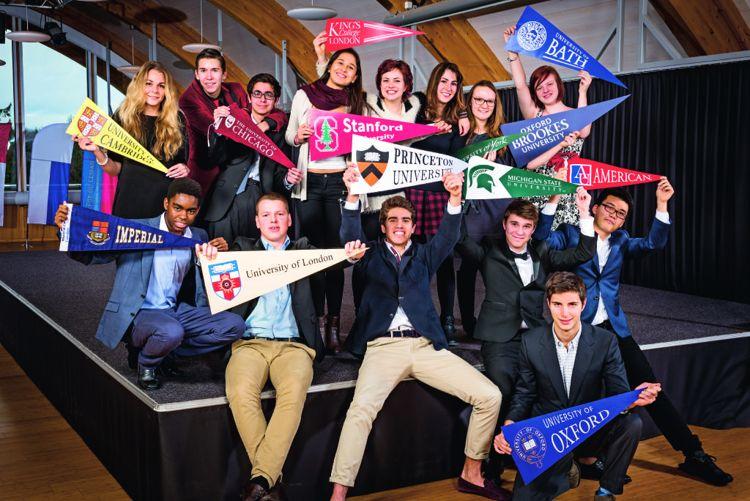 Студенты College Du Leman