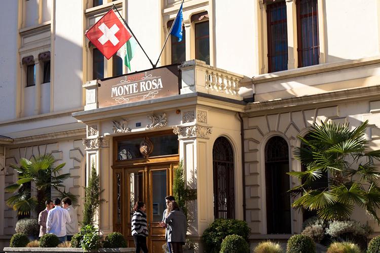 Главный фасад Institut Monte Rosa