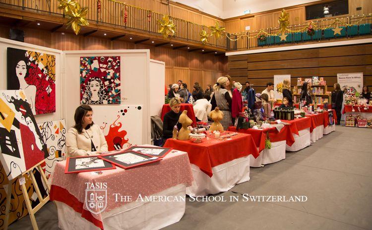 Рождественская ярмарка в TASIS