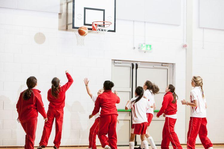 Спортивный зал в Alexandra College