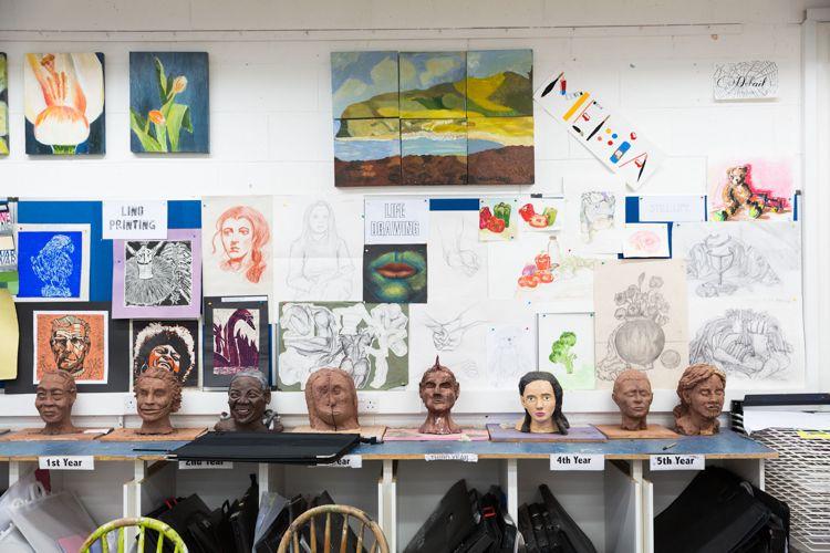 Творческий класс в Alexandra College
