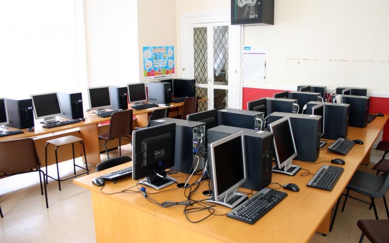 Компьютерный класс в Sutton Park School