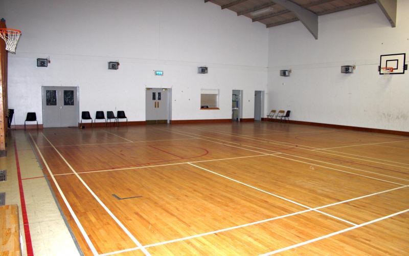 Спортивный зал в Sutton Park School