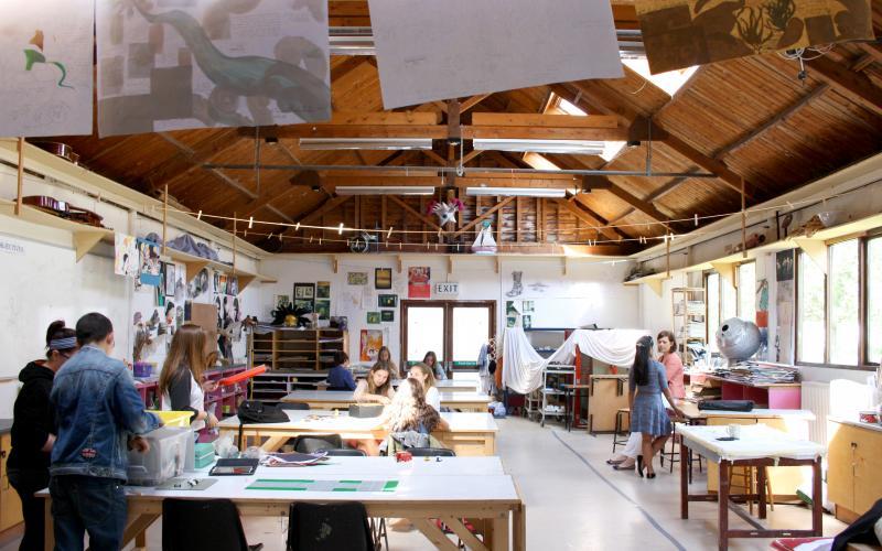Занятия по живописи в Sutton Park School