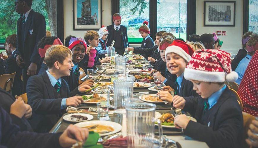 Рождество в Bedford School
