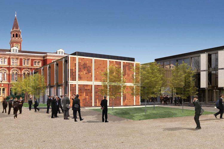 Внутренний двор Dulwich College