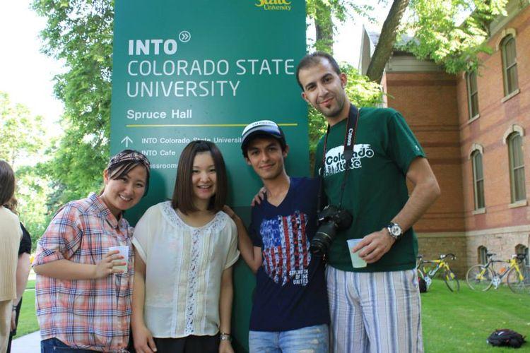 Студенты Colorado State University