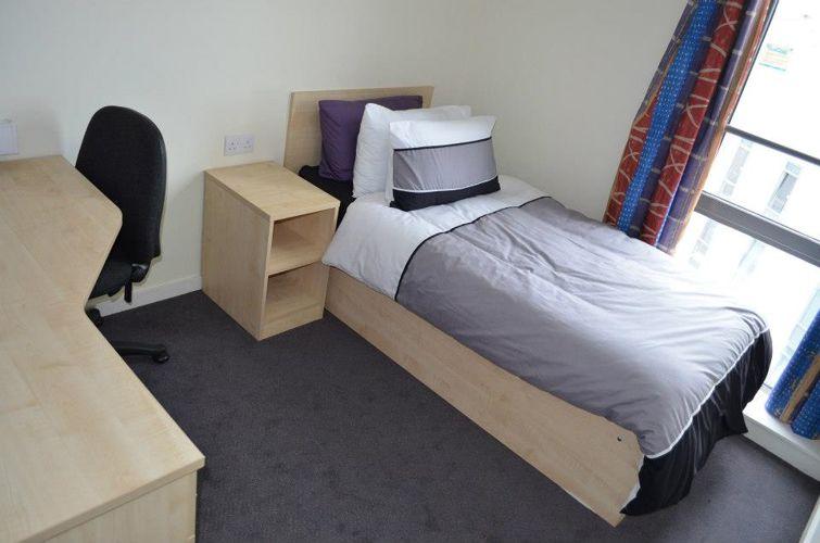 Комната отдыха в резиденции Parkway Gate при Manchester Metropolitan University