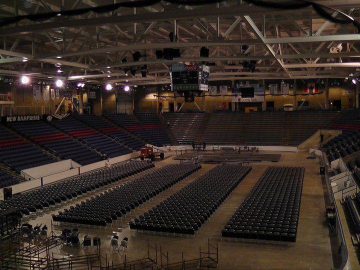 Подготовка к мероприятию в University of New Hampshire