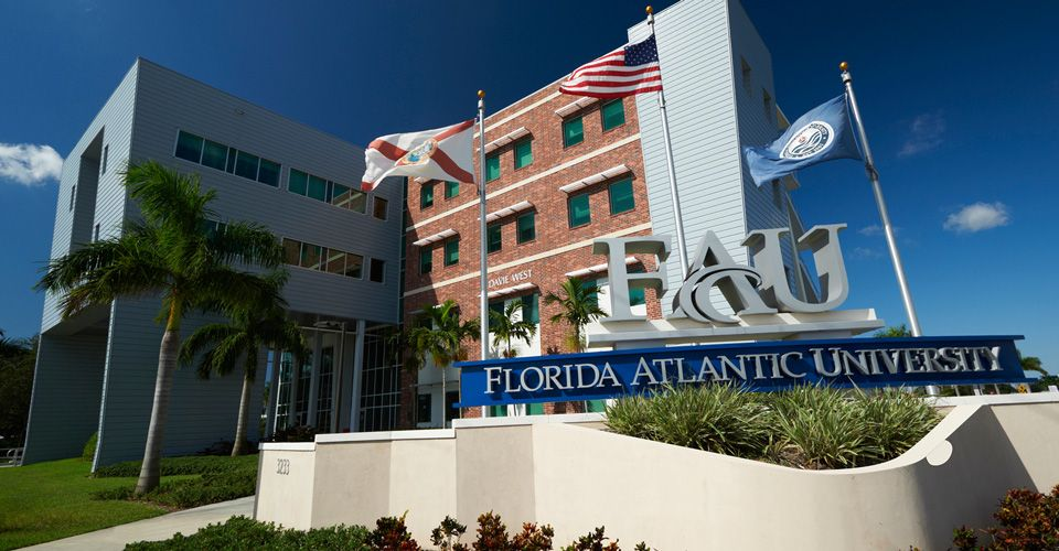 Главный вид Florida Atlantic University