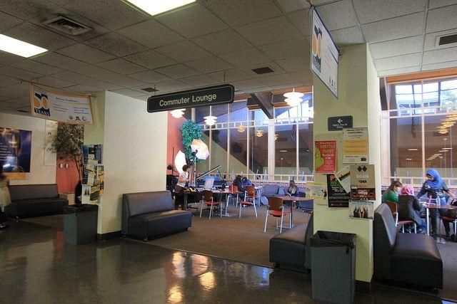 Лаунж-зона в Pace University