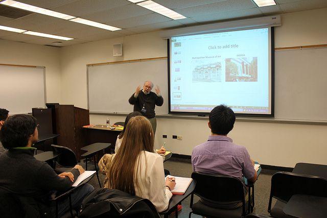 Лекция в Pace University