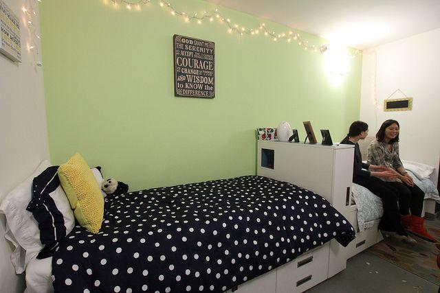 Комната студента в Pace University