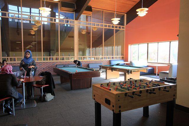 Место отдыха в Pace University