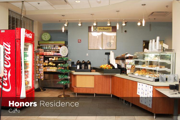 Кафе в резиденции University of South Carolina