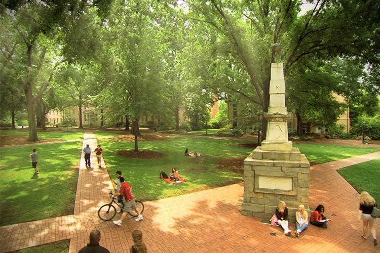 Парк University of South Carolina