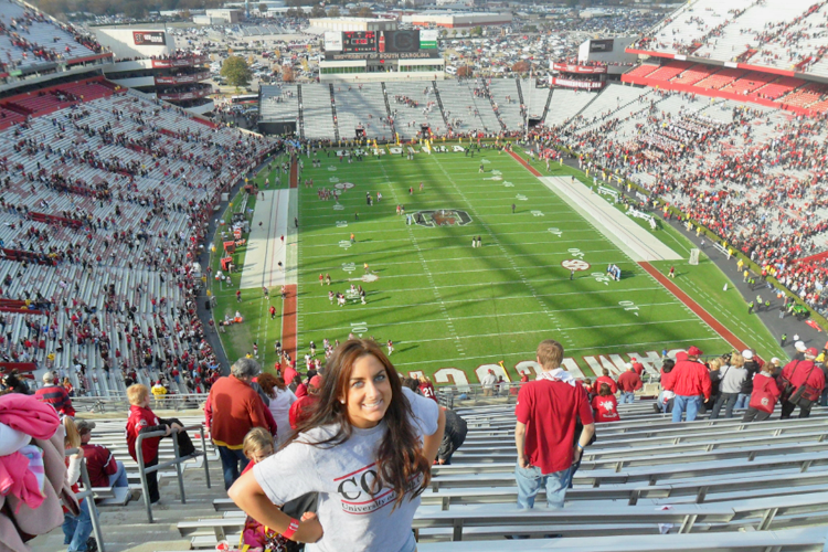 Спортивный стадион University of South Carolina