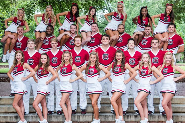 Команда поддержки University of South Carolina