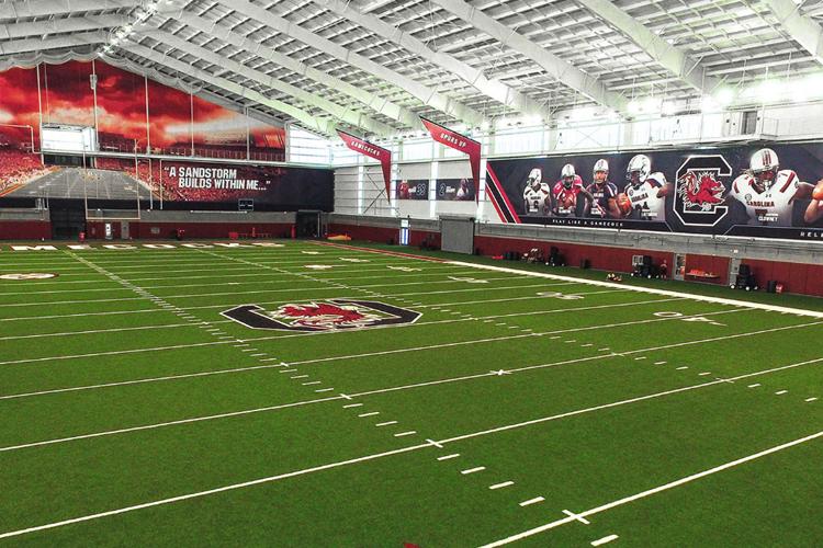 Спортивное поле University of South Carolina